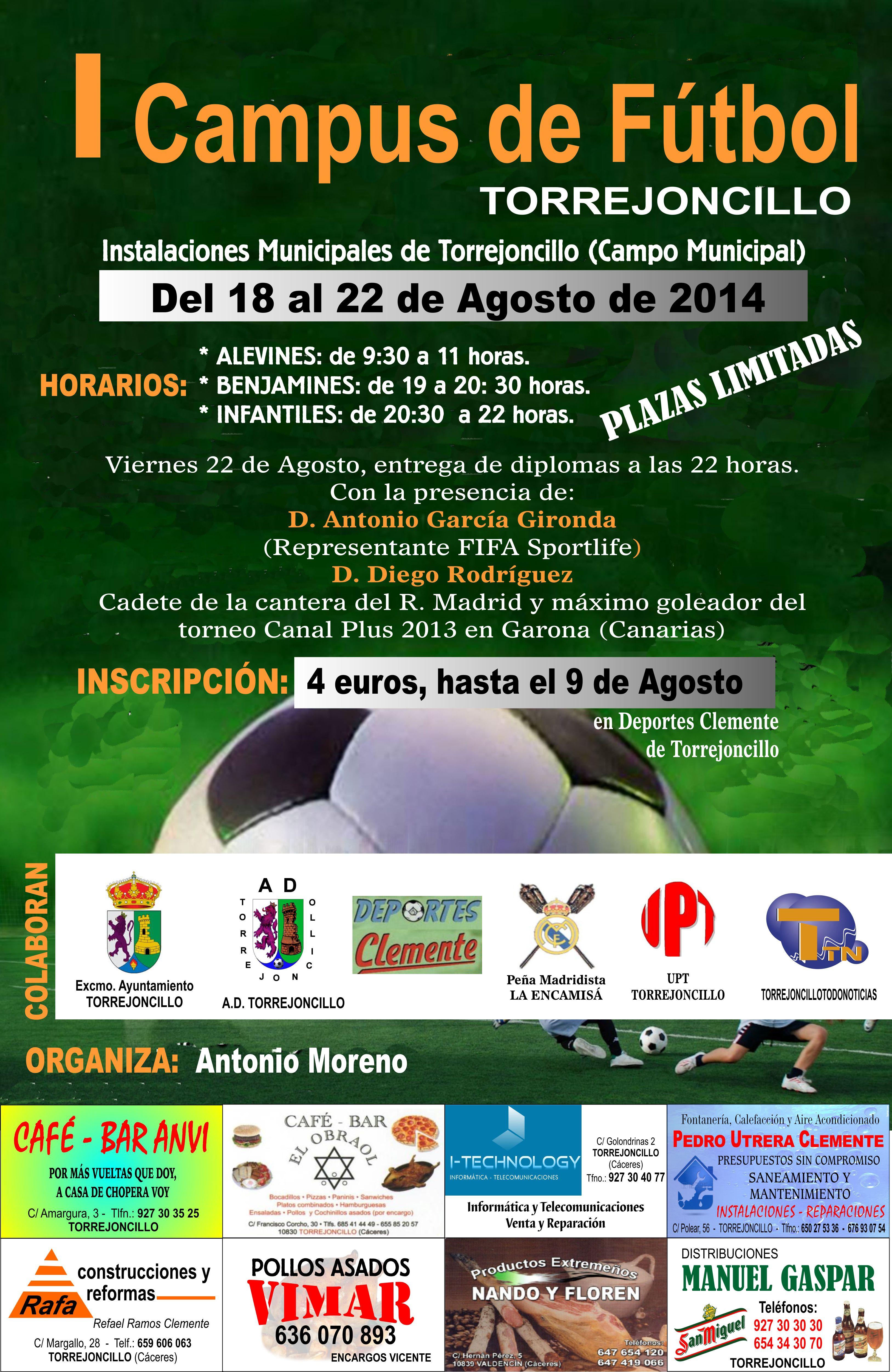I Campus de Fútbol Torrejoncillano