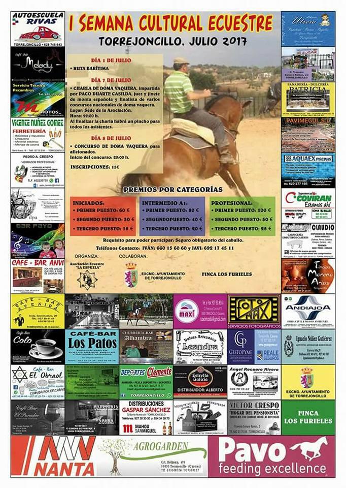 Programa I Semana Cultural Ecuestre