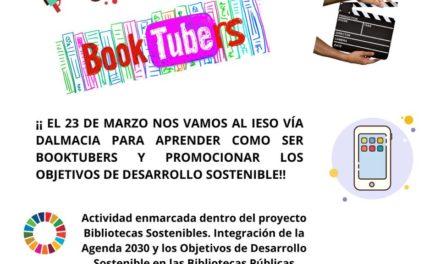 TALLER DE BOOKTUBERS EN EL IESO VÍA DALMACIA