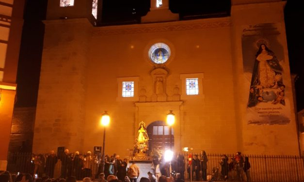 Torrejoncillo celebró su Ofrenda Floral a Caballo a María Inmaculada