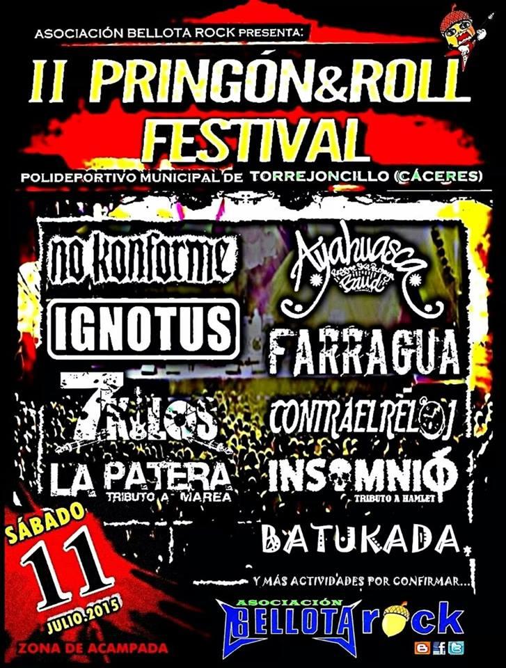 Crowdfunding para el II Pringon&Rock Festival
