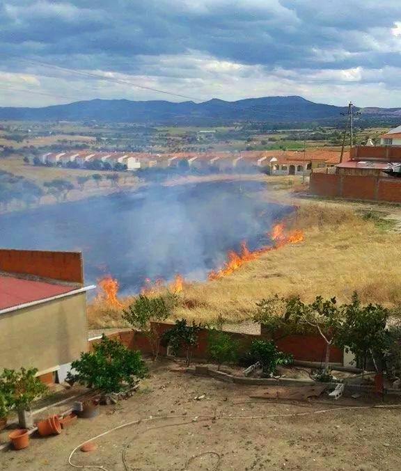 Incendio sin graves consecuencias en Torrejoncillo