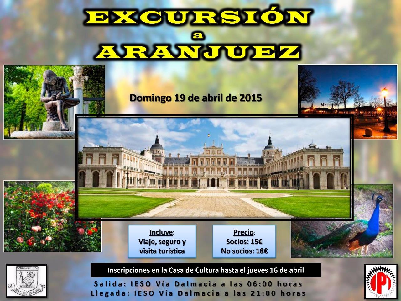 Viaje a Aranjuez con la Asociación Cultural