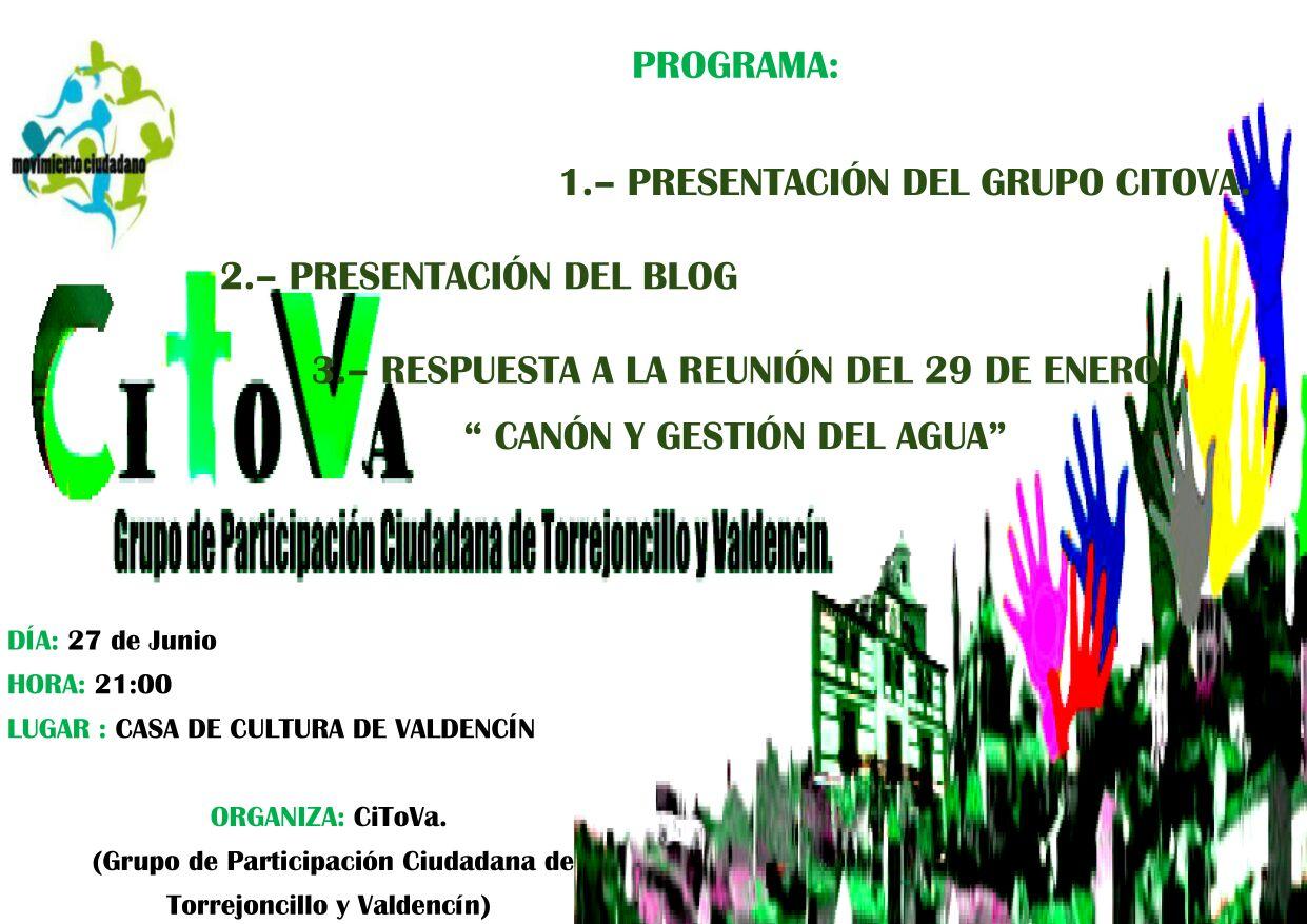 Presentación del Grupo CITOVA