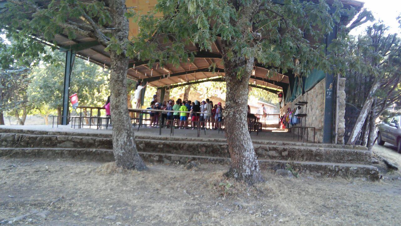 El campamento de Villamiel, un año más, como destino turístico