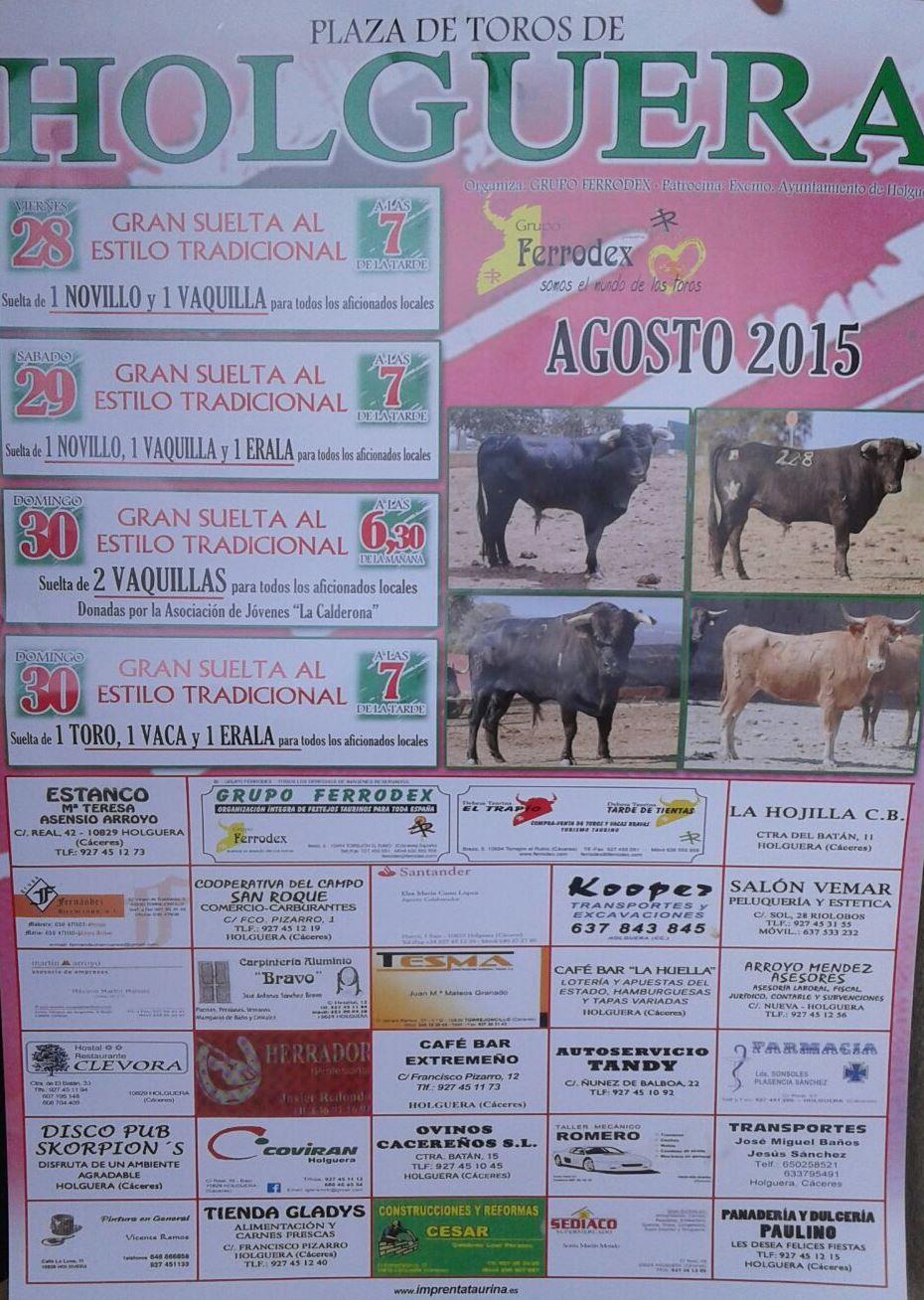 Ruta senderista, acordeones, liturgias, orquestas y toros en Holguera
