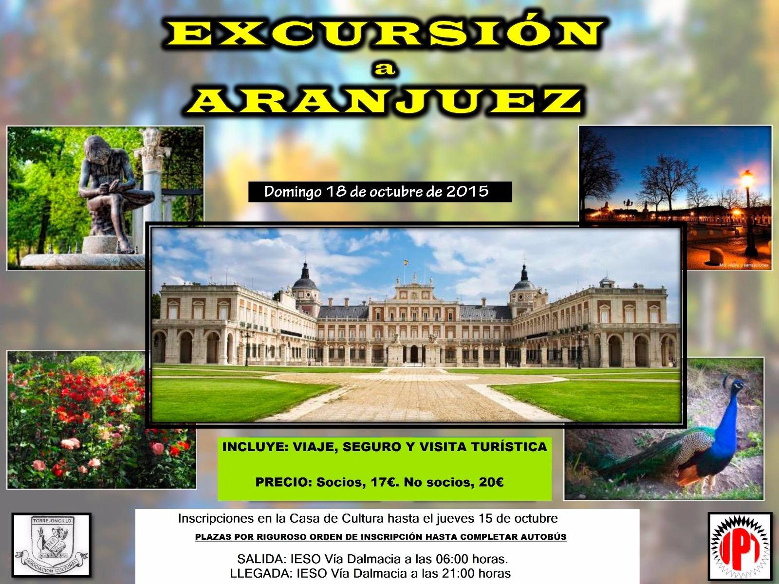 Aranjuez, próximo destino de la Cultural