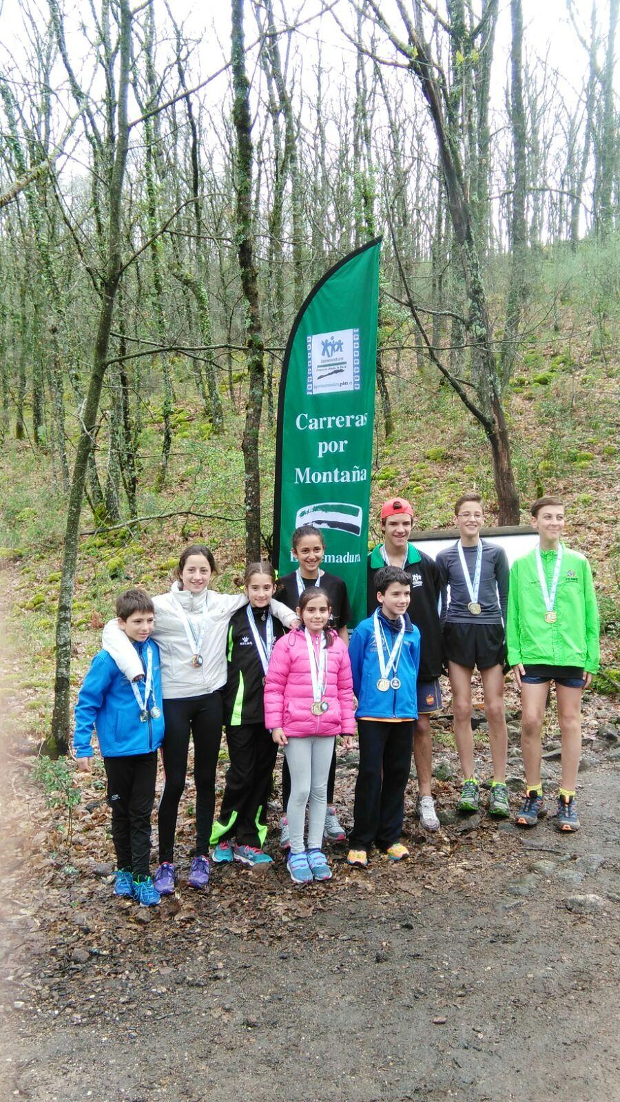 Cuatro campeones regionales y el primer puesto por equipos en Montaña
