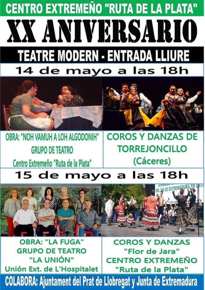 El Folklore Torrejoncillano en Cataluña