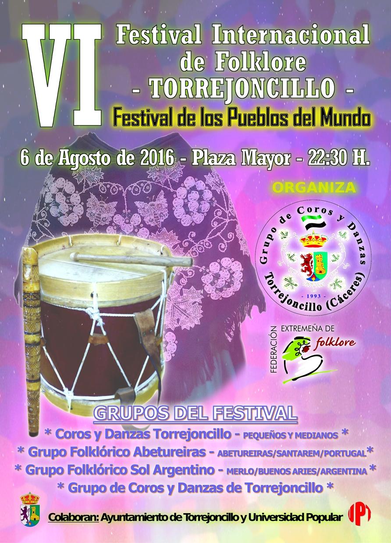 VI Festival Internacional de Folklore de Torrejoncillo