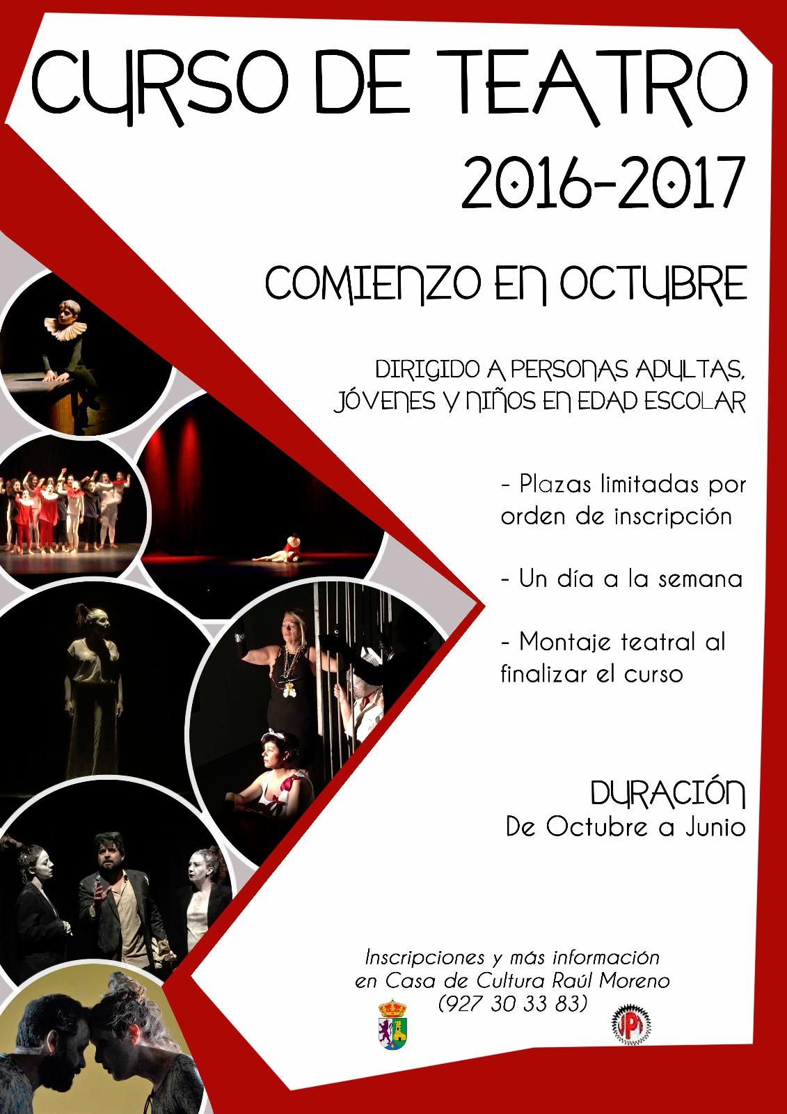 Curso de Teatro de 2016-2017