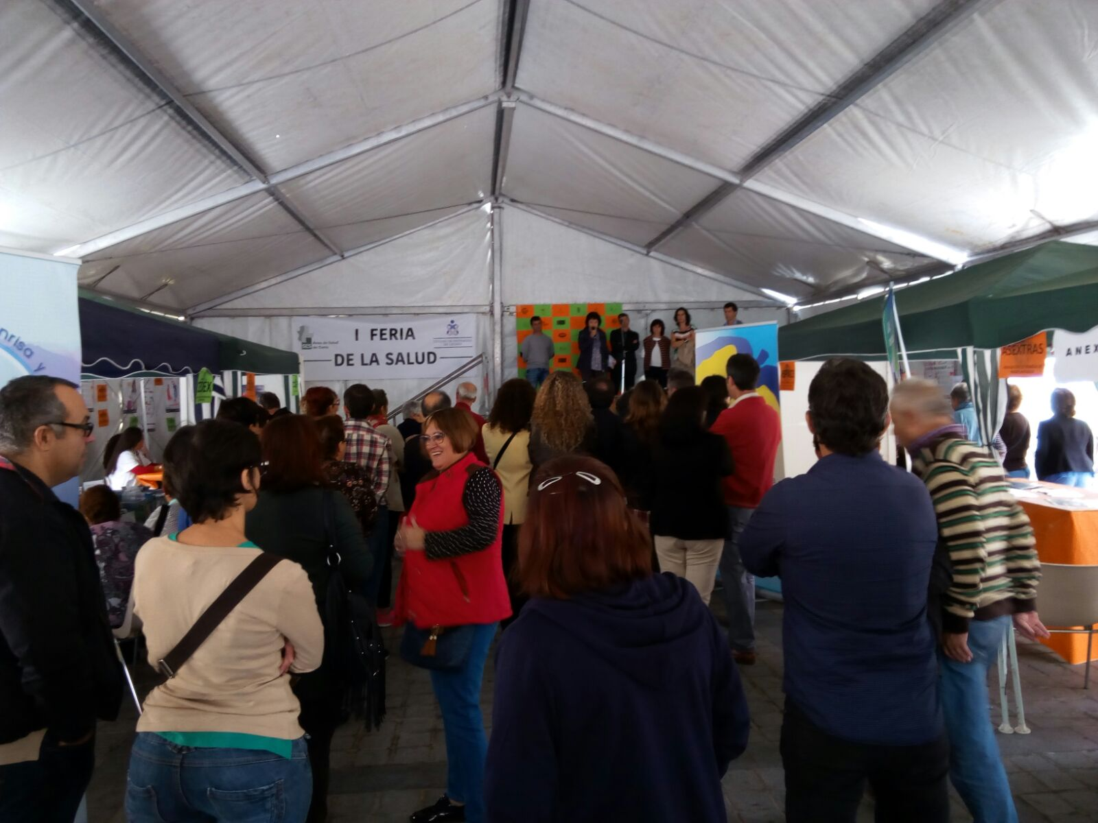Éxito de la I Feria de la Salud celebrada en  Torrejoncillo