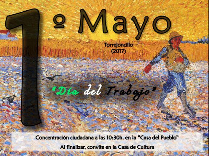 Celebración 1º de Mayo: Día del Trabajo.