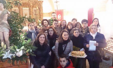 Los Mayordomos de San Sebastián 2018 revitalizan la tradición de «La Rosquilla»