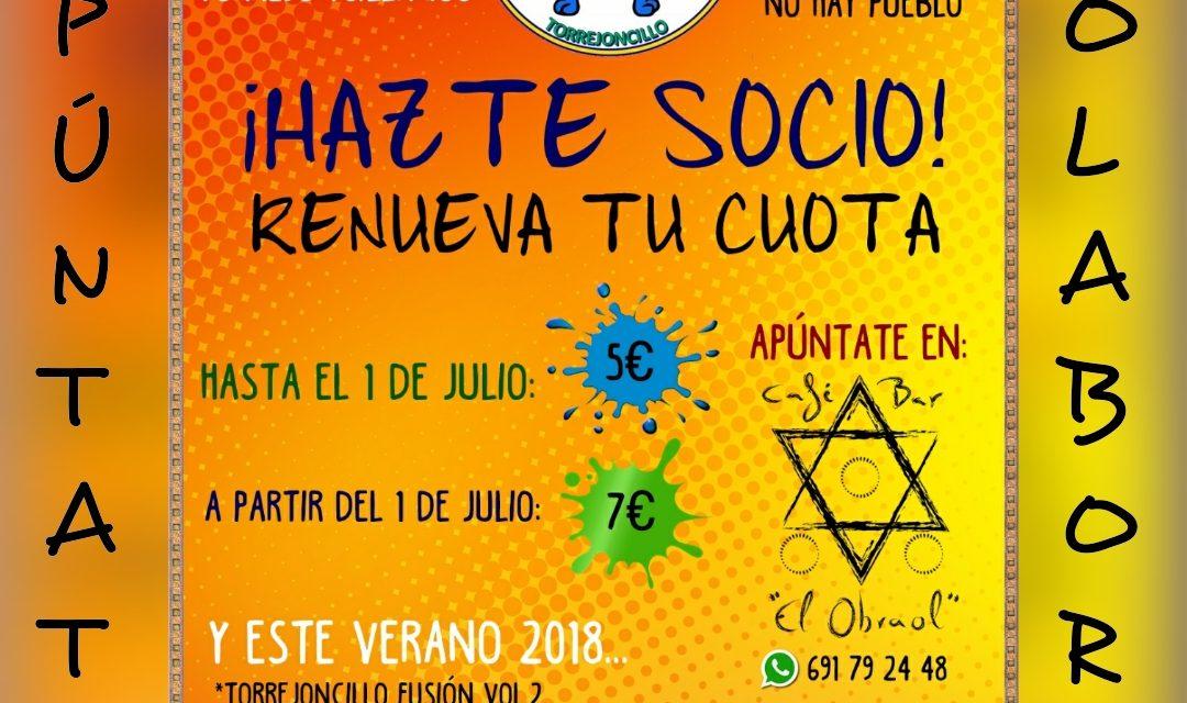 Actividades de verano de la Asociación de Peñas