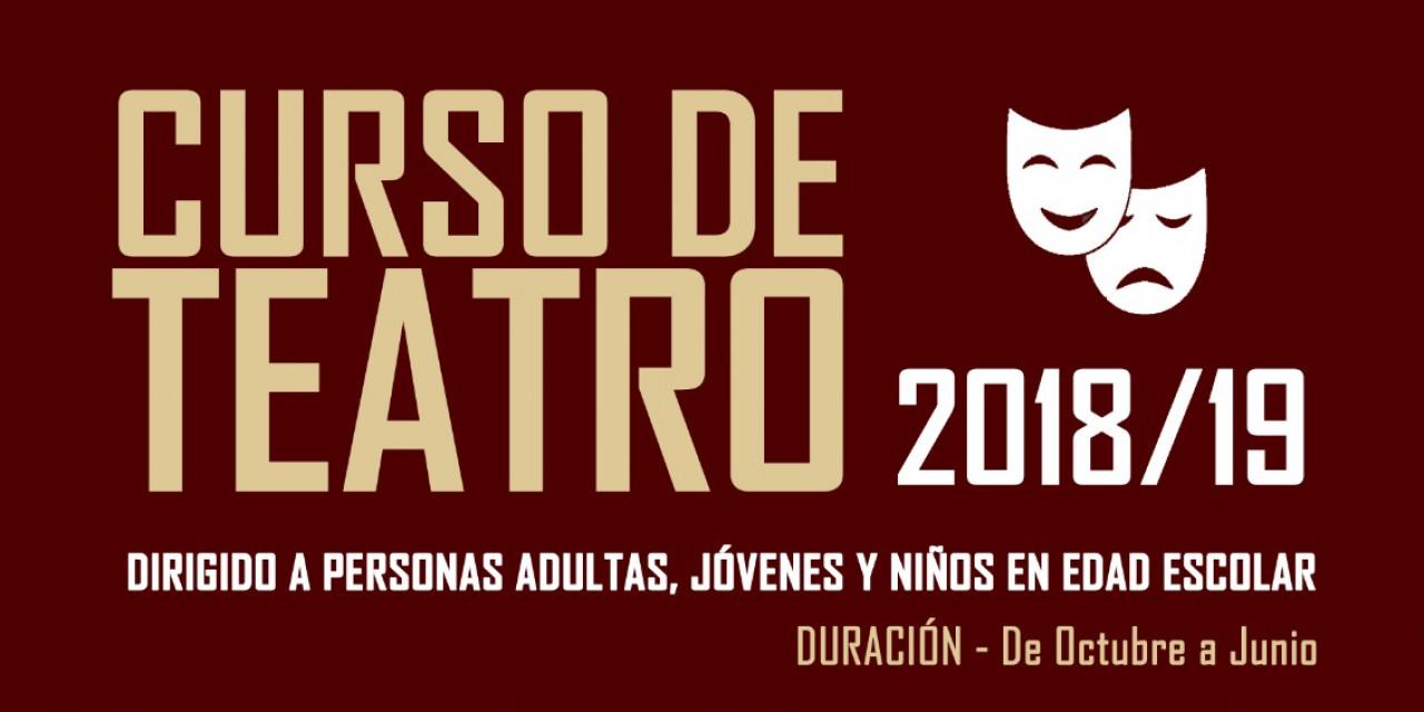 Curso de Teatro 2018-2019