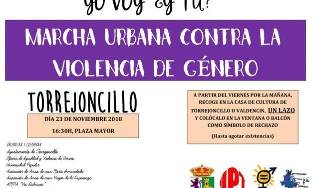 Marcha urbana contra la Violencia de Género