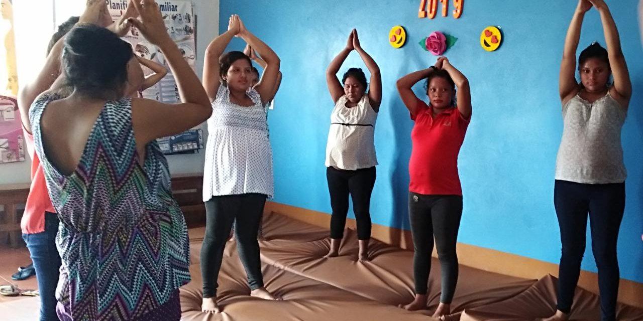 Gentinosina Social busca crear un Servicio de Psicología para niñas embarazadas en Nicaragua