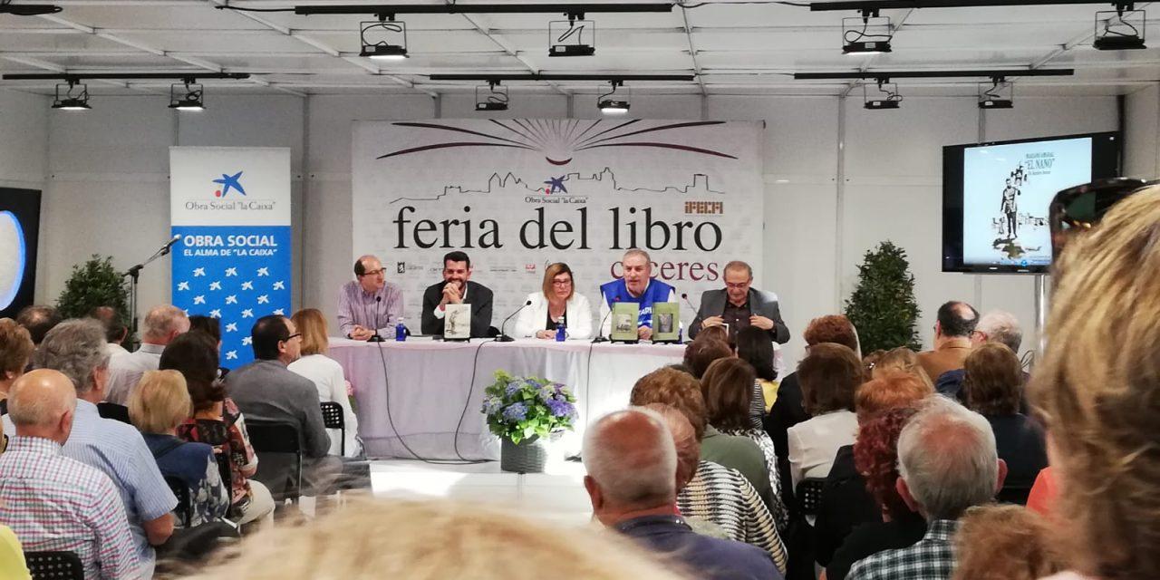 Feria del Libro de Cáceres. Presentación de la obra Los Orives.