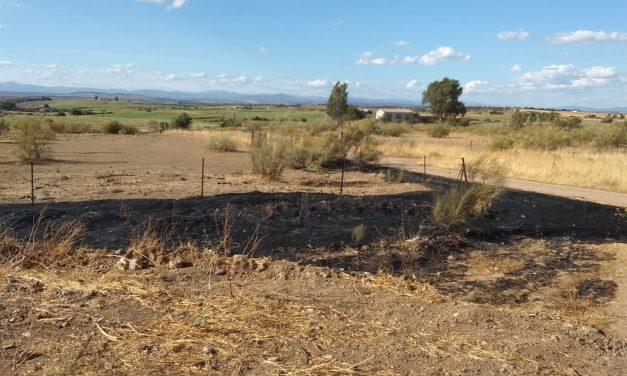 Incendio en Valdencin