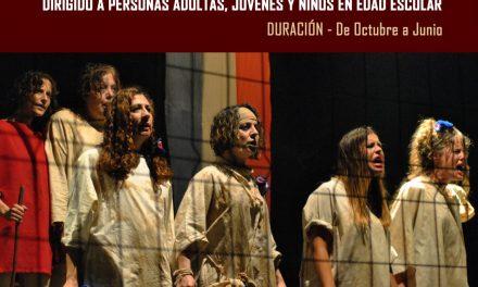 Curso de Teatro 2019/2020. Teatro como puerta abierta al mundo