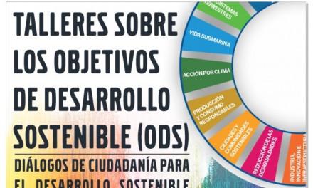 Talleres sobre los objetivos de desarrollo sostenible (ODS)