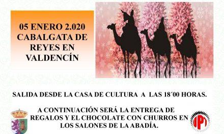 Cabalgata de Reyes en Valdencín