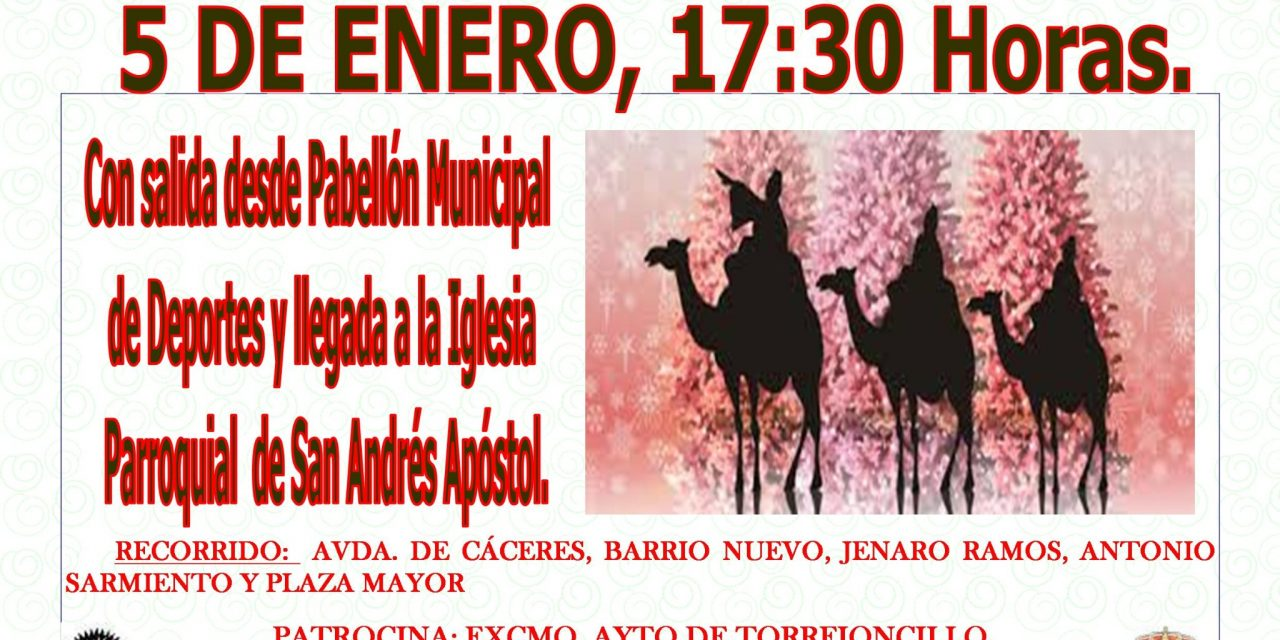 Cabalgata de Reyes en Torrejoncillo