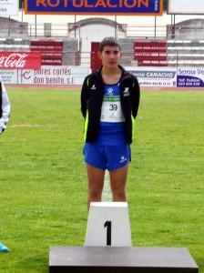 Jesús Oliva, campeón de Extremadura de lanzamiento de jabalina en categoría infantil - MARIO MIRABEL
