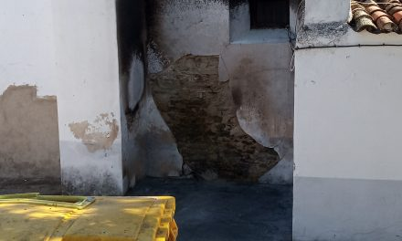 Fuego en los alrededores de la Ermita de San Antonio