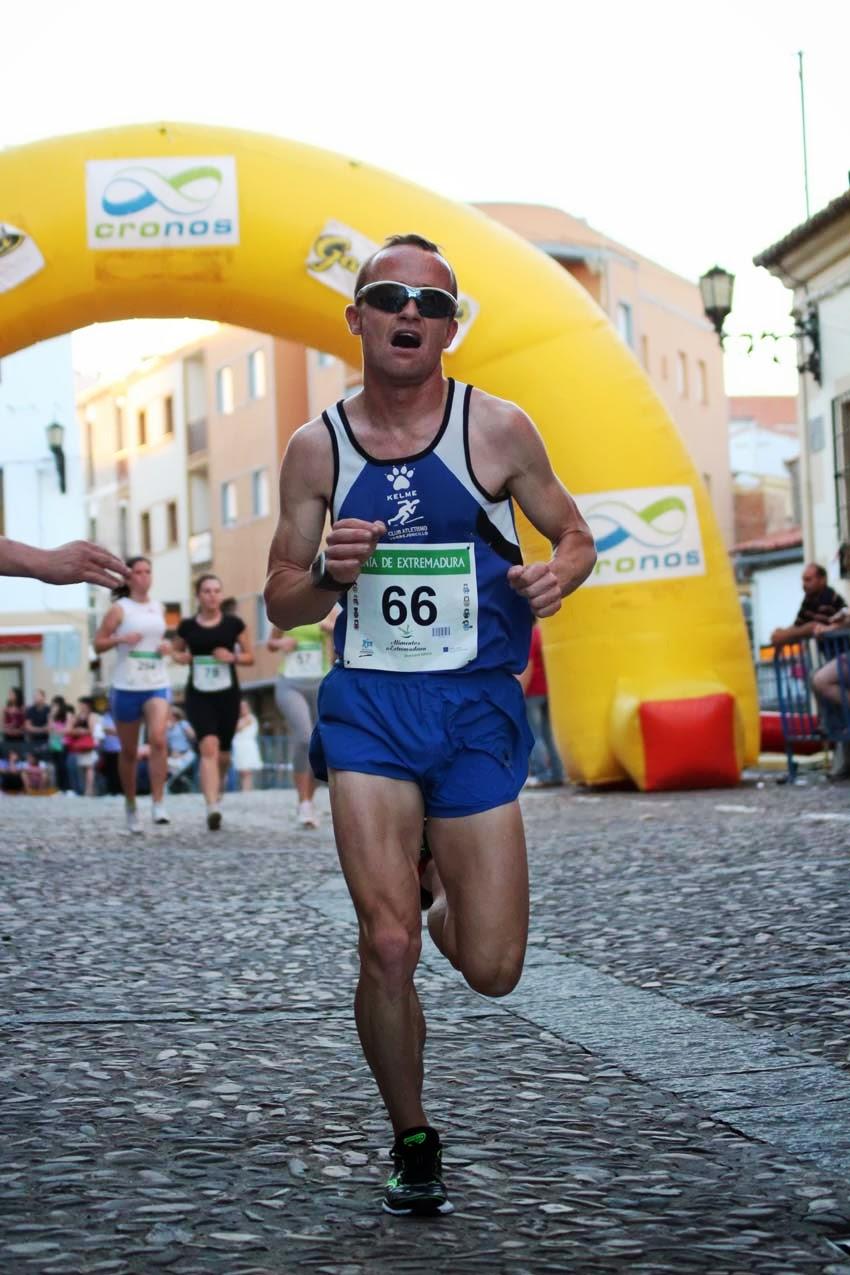 Juan Luis Cirujano bate su marca personal en el Campeonato de España de Media Maratón