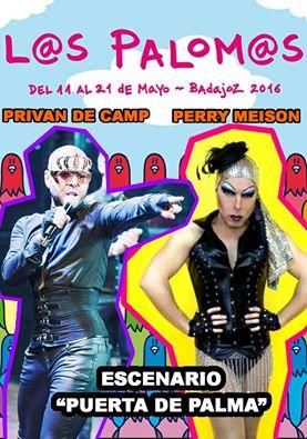 Privan de Camp y Perry Meison vuelven a los Palomos 2016
