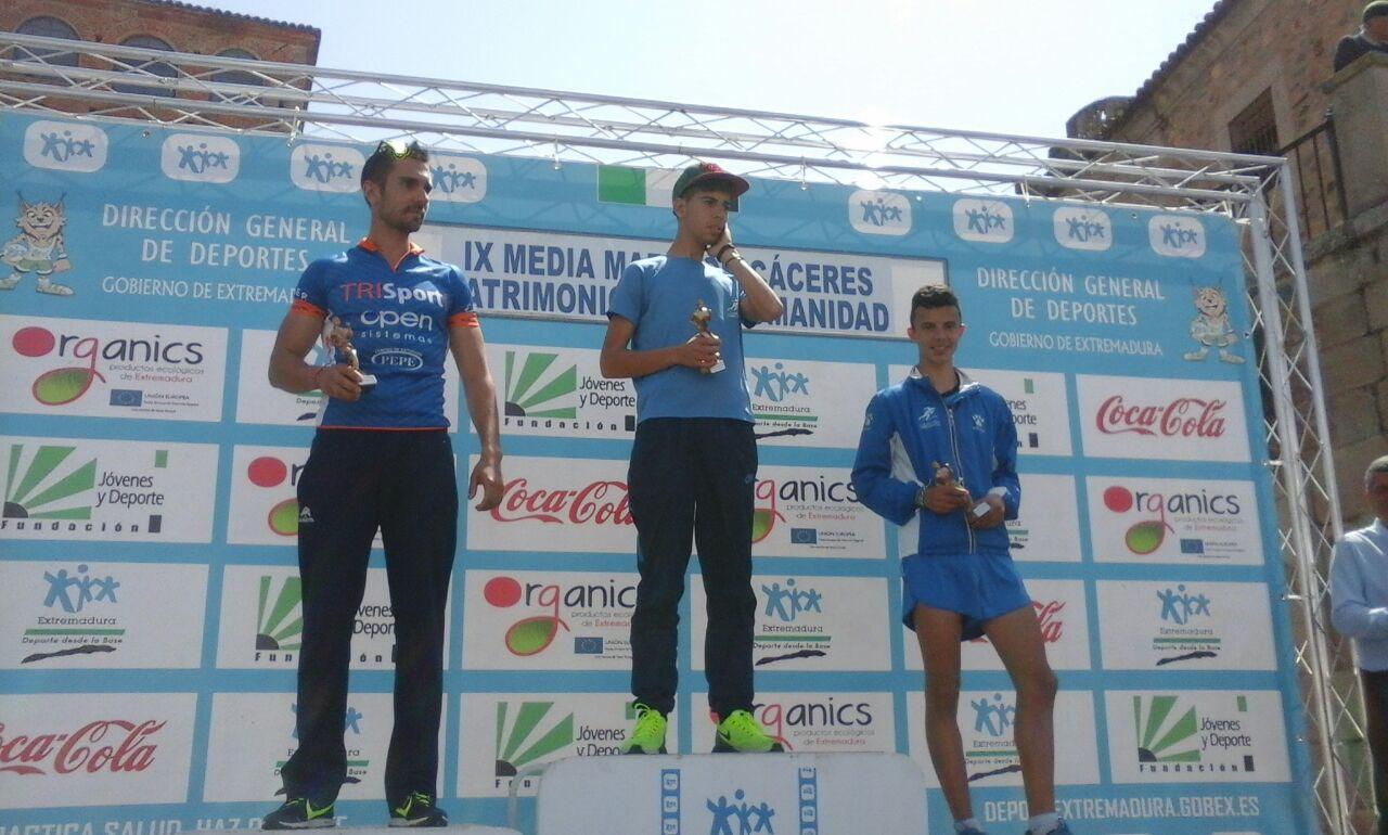 Primero, segundo y tercer puesto en la Media Maratón Capital Española de la Gastronomía