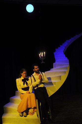 """Jachas Teatro representó """"La Señorita Guardesa"""" en Dos Hermanas (Sevilla)"""