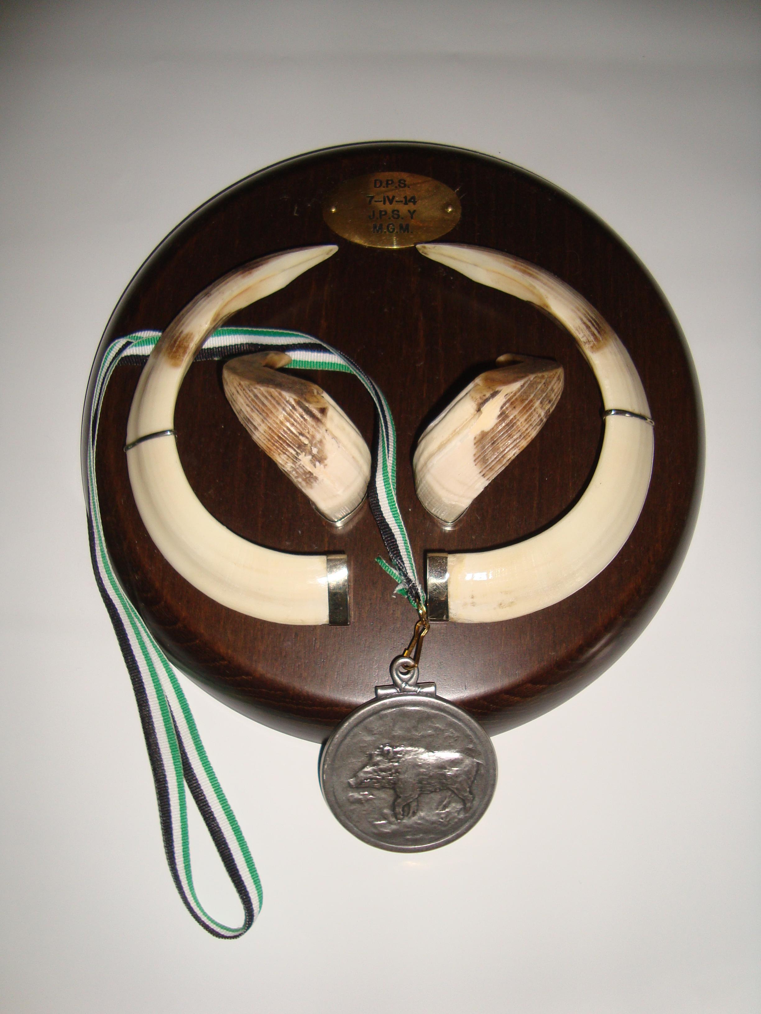 Jesús Paniagua, Medalla Colmillo de Plata Alta por el Gobierno de Extremadura