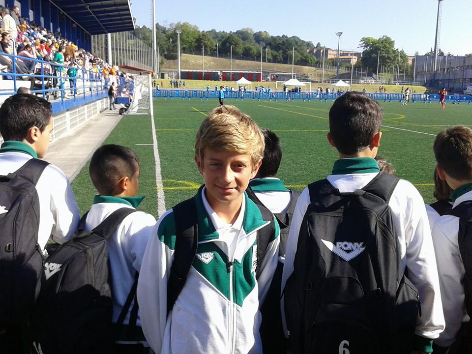 Jorge Clemete llega a Cuartos en el Campeonato de España Sub-12 de Fútbol 8 con Extremadura