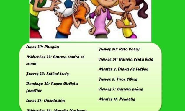 XXXIII JORNADAS DEPORTIVAS DE TORREJONCILLO