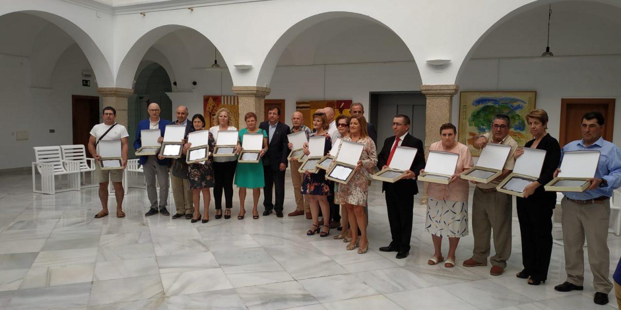 Un Torrejoncillano nombrado Donante Distinguido de Extremadura