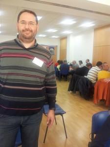 Juan Vecino, en el VI Encuentro Astur-Cántabro de Educación Vial, el pasado mes de noviembre - CEDIDA