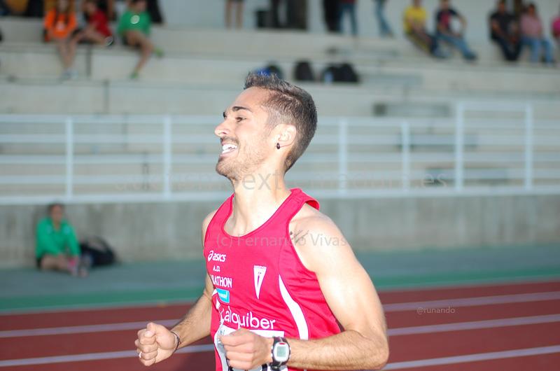 Mario Mirabel, entrando en meta - CEDIDA
