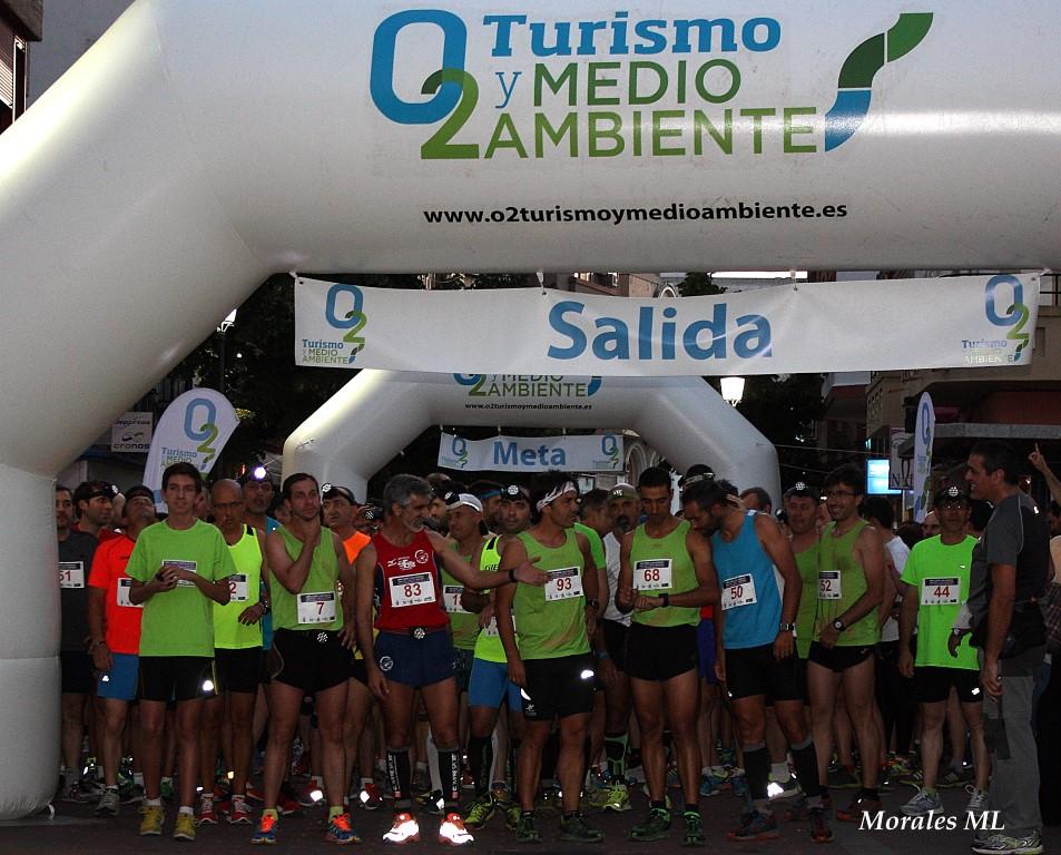 """Kiko Lazaro y Pedro Vergel primero y quinto en la I Nocturna """"las Fuentes"""" Urban-Trail y Ruta de Senderismo."""