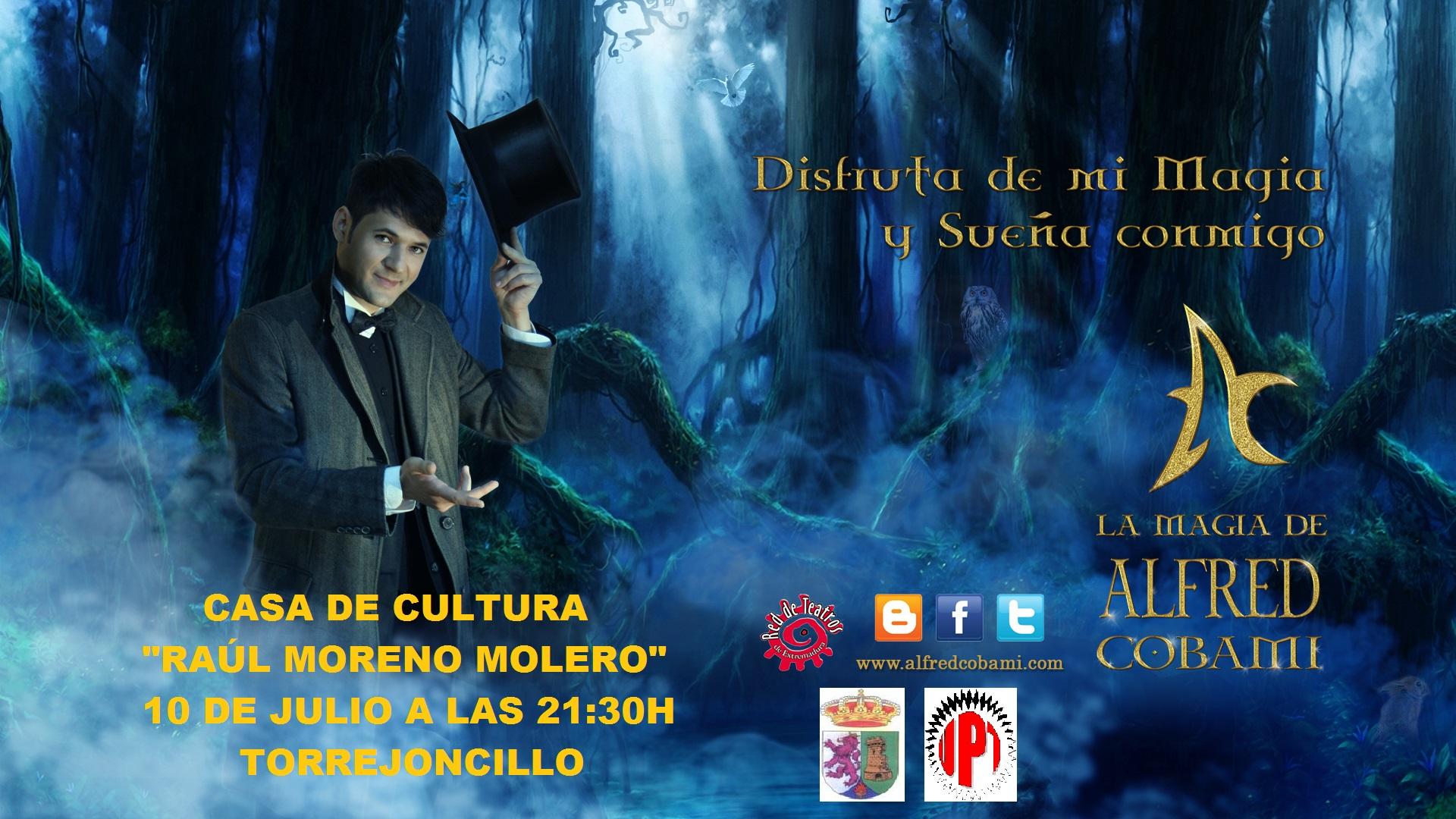 Espectáculo de magía en Torrejoncillo