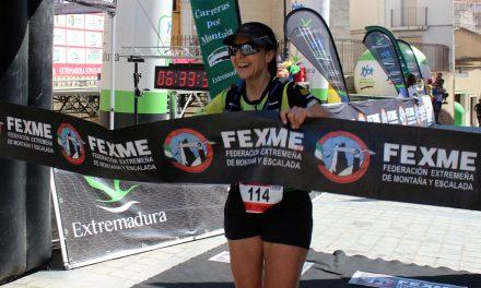 Lidia de la Calle y Carlos Caldera elevan el Trail Ultra Artesanos