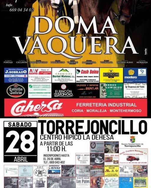 Liga Doma Vaquera en Torrejoncillo