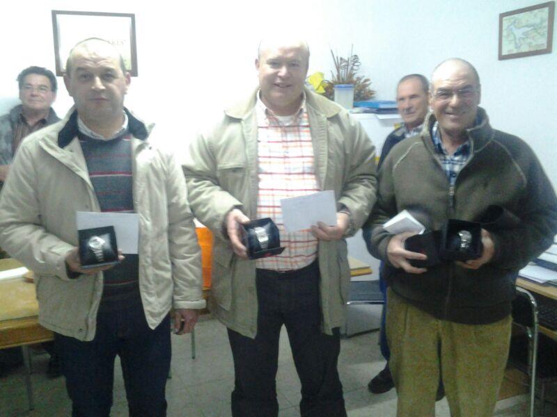 «Asociación de Pescadores los Encinares»: Ganadores de la temporada 2013