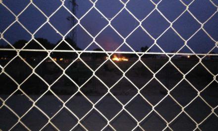 Los vecinos del vapor y la Guardia Civil sofocan un pequeño incendio en la M30