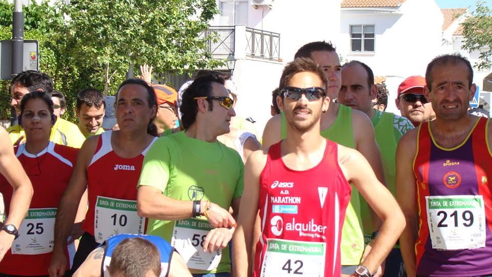 Mario Mirabel, el fin de semana pasado en Malpartida de Cáceres - WEB OFICIAL DE LA PRUEBA