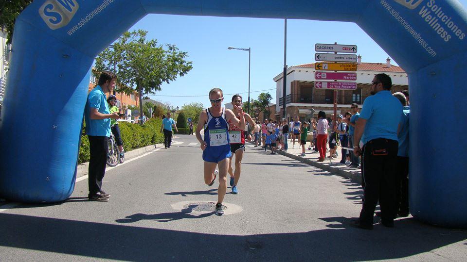 Juan Luis Cirujano y Mario Mirabel, campeón y subcampeón en Malpartida de Cáceres