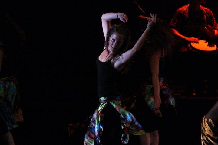 """Mara Nuñez, en su participación en """"África en Danza"""" en 2011 - CEDIDA"""