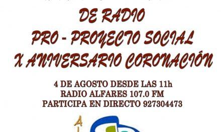 Maratón radiofónico solidario